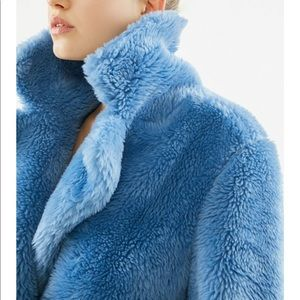 Teddy overcoat URBAN OUTFITTERS